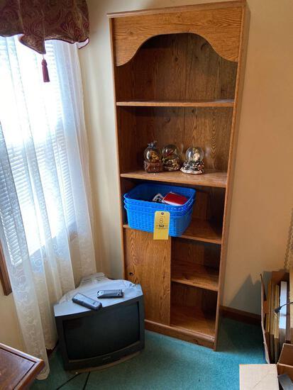 Shelf, TV, Snow Globes