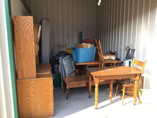 Contents of storage unit J40 10'x15'