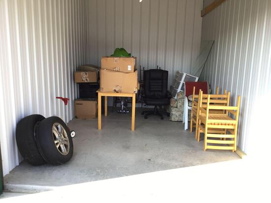 Contents of storage unit O28 10'x15'
