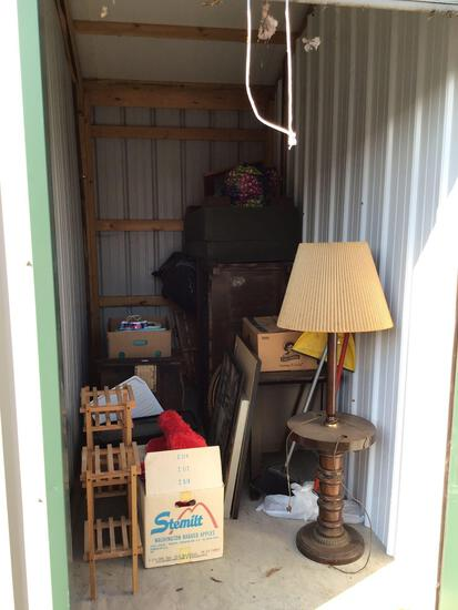 Contents of storage unit E25 5'x10'
