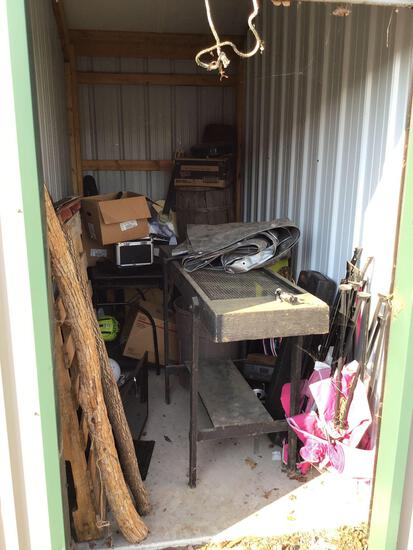 Contents of storage unit E30 5'x10'