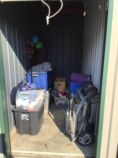 Contents of storage unit F43 5'x10'