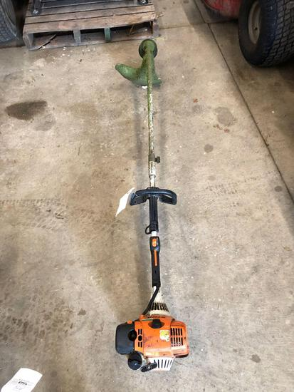 Stihl KM 130R straight shaft weed whacker
