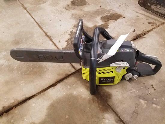 Ryobi 14 inch Ry3714 chainsaw