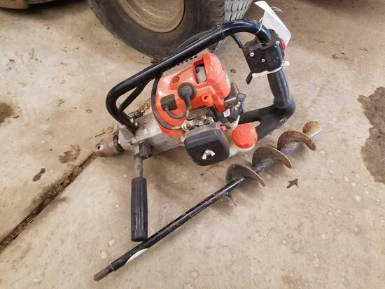 Echo EDR-260 gas powered auger
