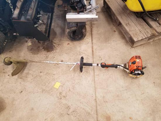 Stihl FS90R weed whip, missing carb cover