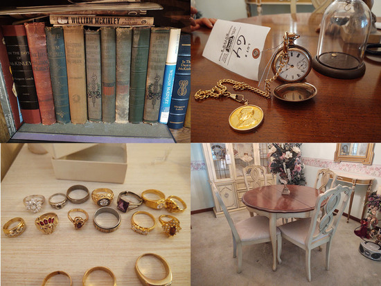 Furniture - Jewelry - Coins - 16381 - Ashley R