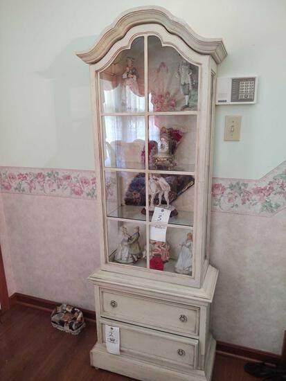 Brandt Lighted Curio Cabinet