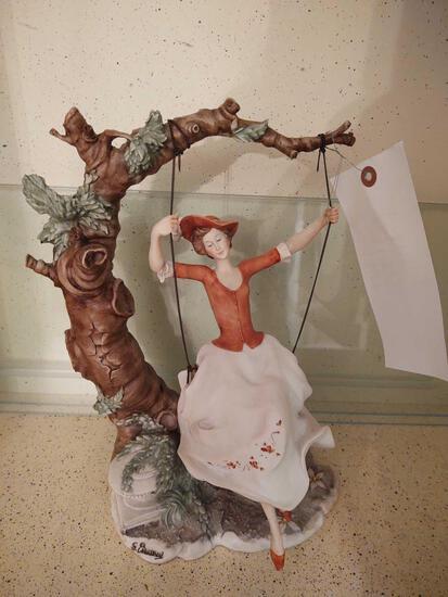 Swinging Lady Figurine