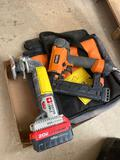 Ridgid Nailer and Porter Cable Sander