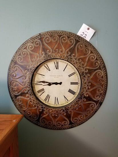Buchanan wall clock