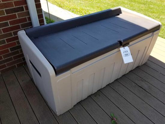 Poly patio box