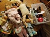 Baby dolls, doll clothes