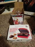 Brownie maker, fruit slicer