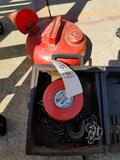 1-ton chain hoist, fuel can