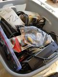 Tote of electronic hardware