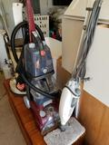 Hoover steam vac, Shark mop