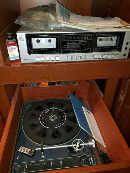 Bic Record Player, Digital Stereo, Speakers