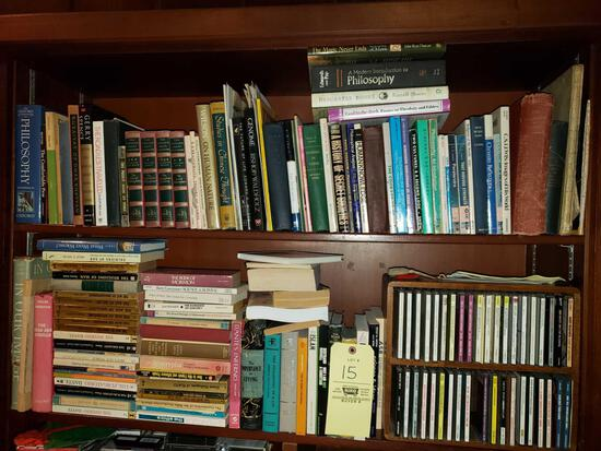 Assorted Books, CDs, Tapes