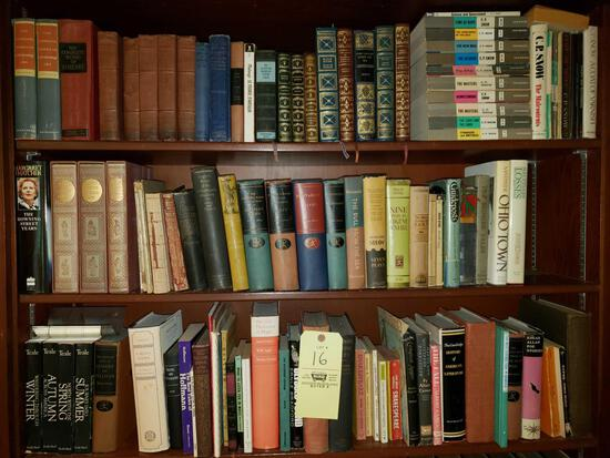 Assorted Books and Encyclopedias