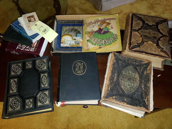 Ornate Bibles, Children's Books