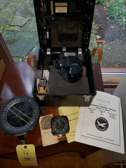Compass, Aircraft Clock, Pendulous Mirror
