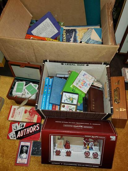 Books, Games, Cards, Bachman Hauler