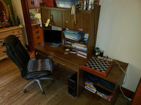 2 Pc. Desk and Office Chair