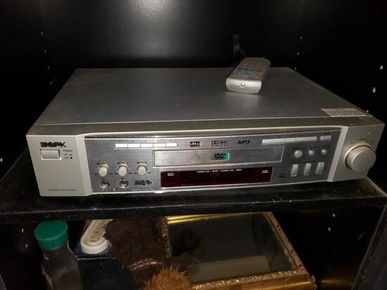 GPX DVD/CD Player with Subwoofer and 5 Speakers
