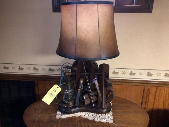 Primitive Tooling Lamp