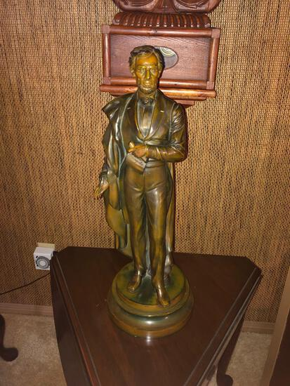 Abraham Lincoln Statue - 23in T