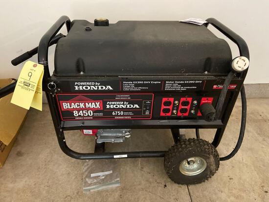 Honda Black Max 8450 Generator