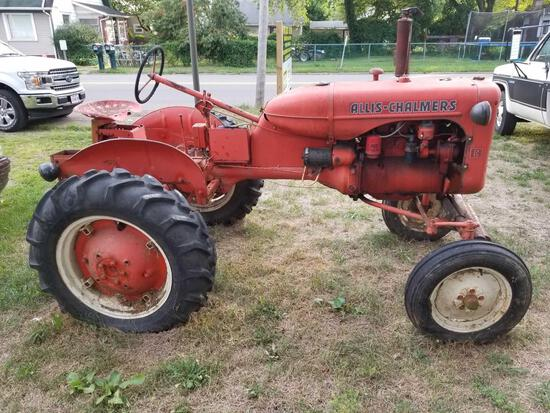 1942 Allis Charmers C tractor