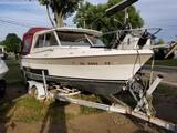1984 Bayliner 20 ft. 1 in. boat with 125 HP Volvo engine and trailer