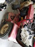 Wheelhorse raider 10 lawn tractor