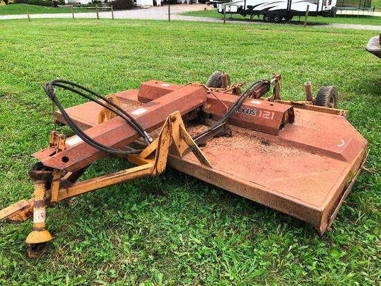 Woods 121 10' pull-type brush hog mower