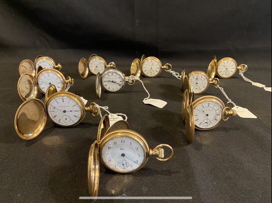 Pocket Watches - Watch Parts - Clocks - 16420 Ryan