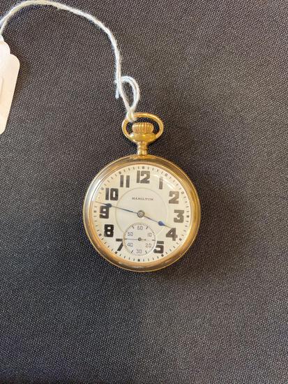 Hamilton watch co. 21 jewels