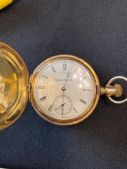 Keystone watch co. in hunter case