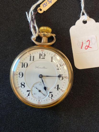 Hamilton watch co. 996 - 19 jewels