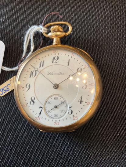 Hamilton watch co 956 - 17 jewels