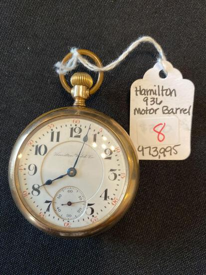 Hamilton watch co. 936 17 jewels