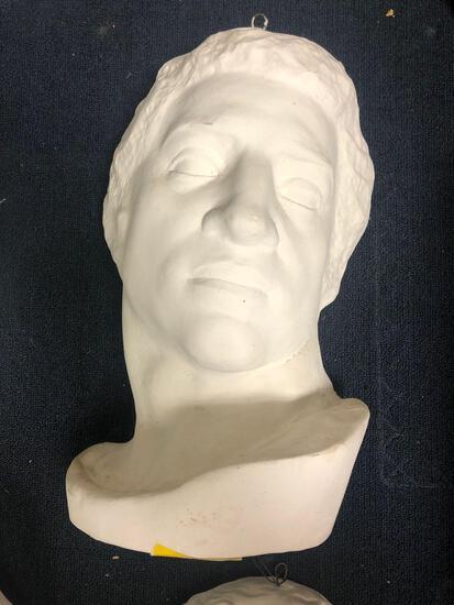 Sculpture House ceramic/plaster head