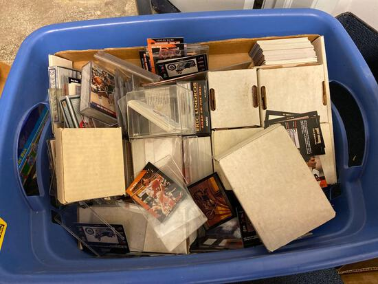 Basket of Baseball Cards