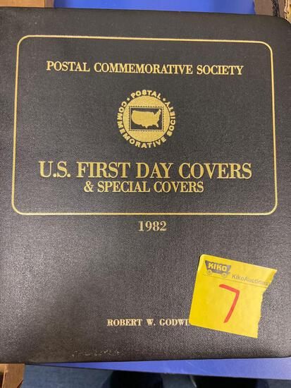 1982 U.S. First Day Covers stamps