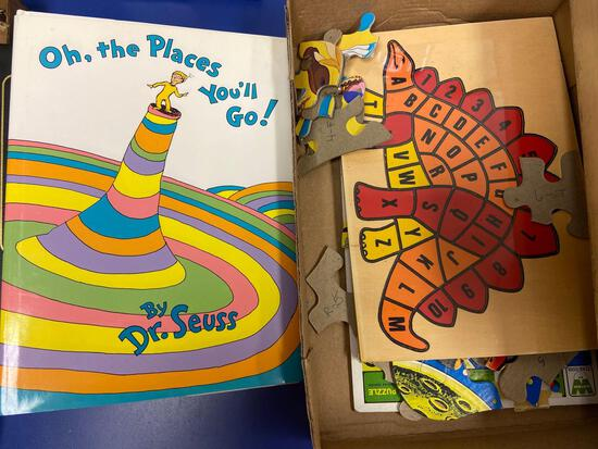 Dr. Suess Book and Puzzles