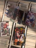 3 boxes of sports cards