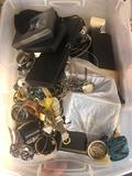 Tote of jewelry