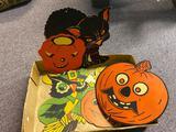 Vintage Cardboard Halloween