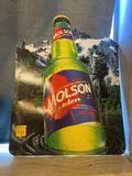 Molson Beer Sign